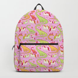 dinosaur horse cat Backpack