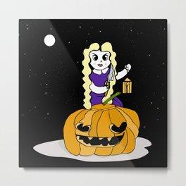 Halloween Pumkin Metal Print
