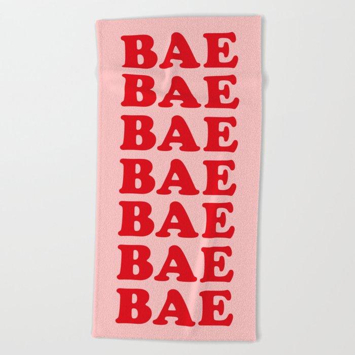 Bae Bae Bae Beach Towel