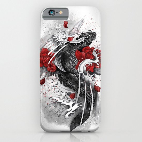 Black Koi iPhone & iPod Case