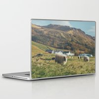 iceland Laptop & iPad Skins featuring Iceland by Chelle Wootten