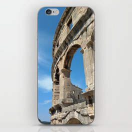 pula croatia ancient arena amphitheatre high iPhone Skin