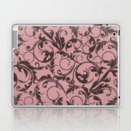 Vintage Swirls Bridal Rose Laptop & iPad Skin