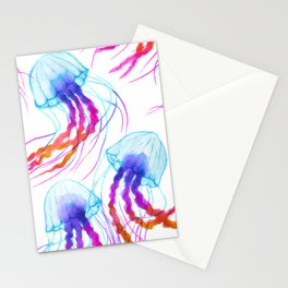 Jellyfish Daydreams Stationery Cards