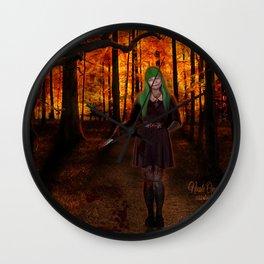 Frightful Night Wall Clock