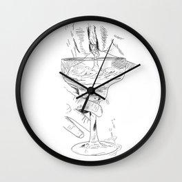 pussy margarita Wall Clock
