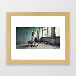 Chernobyl - лікарня III Framed Art Print