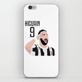 Higuain - Juventus iPhone Skin