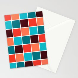 Squares I Stationery Cards