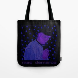 """""""Mac Sippin"""" Colored Tote Bag"""