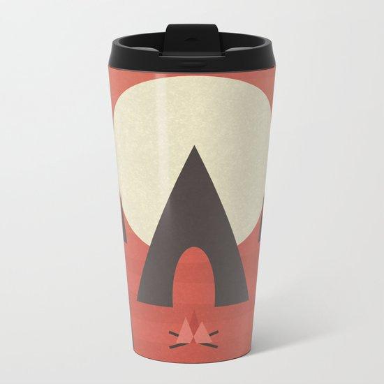 Camping Metal Travel Mug