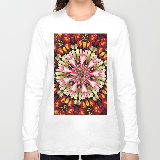 Botanical Dreams Mandala Long Sleeve T-shirt