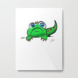Lil Dino Metal Print