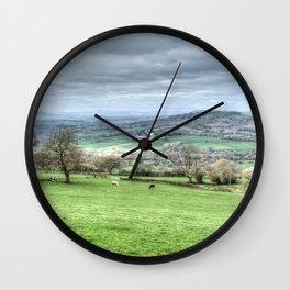Monmouthshire Panorama Wall Clock