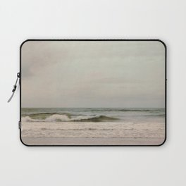 Cloudy Daydreaming by the Sea Laptop Sleeve