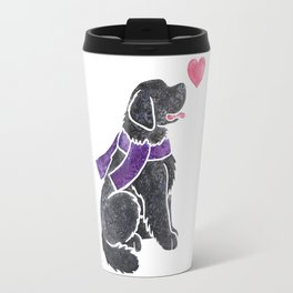 Watercolour Newfoundland Travel Mug