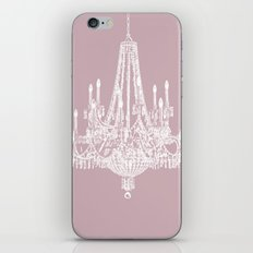 Chic White and Pink Chandelier   iPhone & iPod Skin