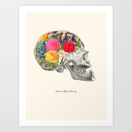 Politeness is the flower of humanity Art Print