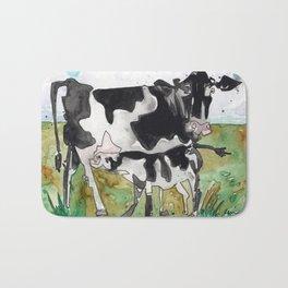 Mommy Milk Cow Bath Mat
