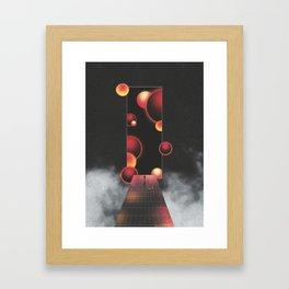 Void Vibes Only Framed Art Print