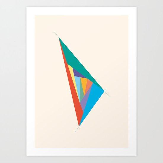 Oscillation Art Print