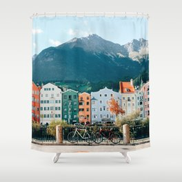 Crayola Houses | Innsbruck, Austria Shower Curtain