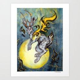 the Jackalope Art Print