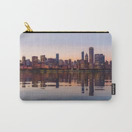 Panorama of the City skyline of Chicago Carry-All Pouch