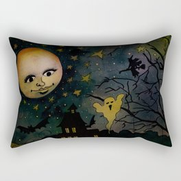 A Halloween Spell Rectangular Pillow