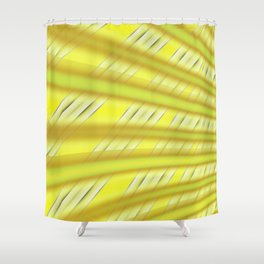Fractal Play in Citruslicious Shower Curtain