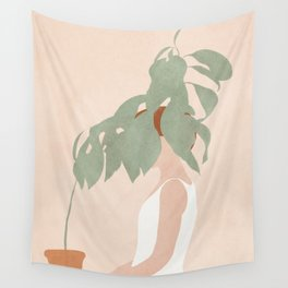 Lost in Leaves Wall Tapestry