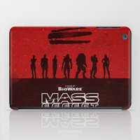 mass effect iPad Cases featuring Mass Effect 1 by Bill Pyle