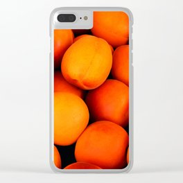 Apricots Clear iPhone Case