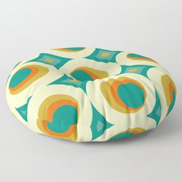 Mid-Century Modern Floor Pillow