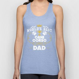 World's Best Cane Corso Dad Unisex Tank Top