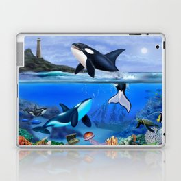 THE ORCA FAMILY Laptop & iPad Skin