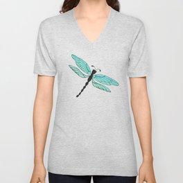 Dragonfly Unisex V-Neck
