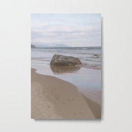 Beachy Sunset Vibes Metal Print