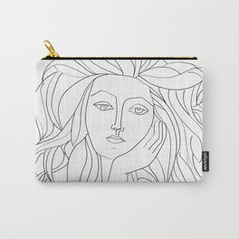 Picasso's Muse Sketch Carry-All Pouch