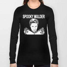 Spooky Mulder (black) Long Sleeve T-shirt