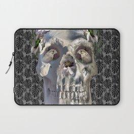 Floral Skull Laptop Sleeve