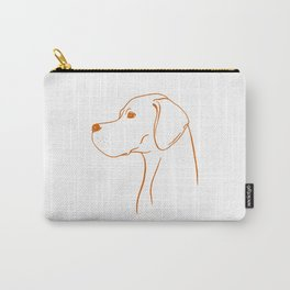 English Pointer (White and Orange) Carry-All Pouch