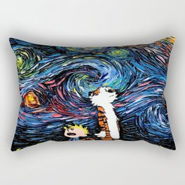 calvin hobbes Rectangular Pillow