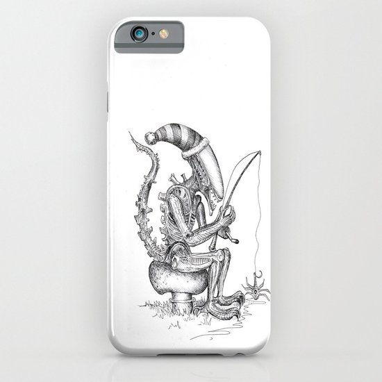 Alien gnome iPhone & iPod Case
