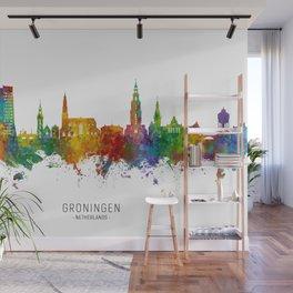 Groningen The Netherlands Skyline Wall Mural