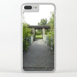 Alcoa Greenway Clear iPhone Case