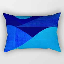 Abstraction_Moonlight Rectangular Pillow
