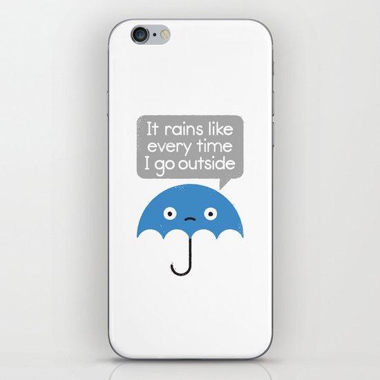 Umbrellativity iPhone & iPod Skin