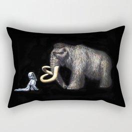 Nocturnal Encounters Rectangular Pillow