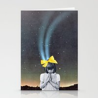 new year Stationery Cards featuring NEW YEAR by Beth Hoeckel